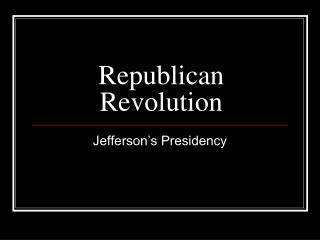 Republican Revolution
