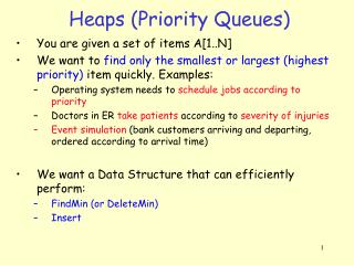 Heaps (Priority Queues)