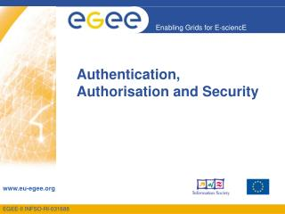 Authentication, Authorisation and Security