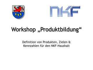 "Workshop ""Produktbildung"""