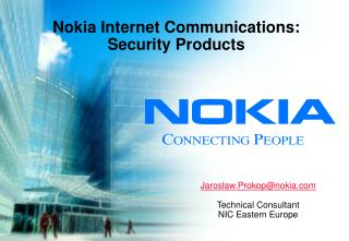 Nokia  Internet Communications: Security Products