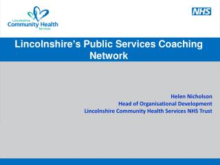 Lincolnshire ' s Public Services Coaching Network