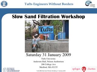 Slow Sand Filtration Workshop