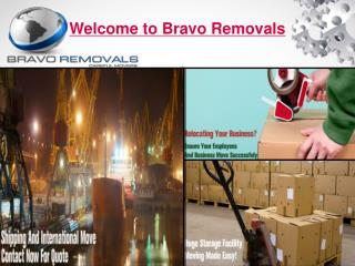Welcome To Bravo Removals