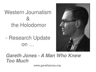 Western Journalism  &  the Holodomor  - Research Update  on …