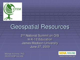Geospatial Resources
