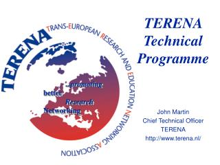 TERENA Technical  Programme