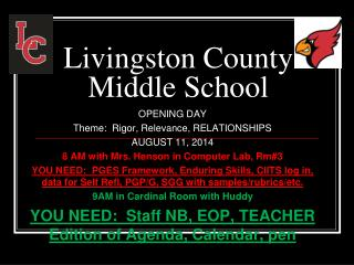 Livingston County Middle School