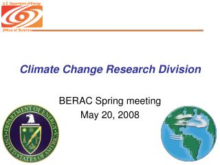 Climate Change Research Division