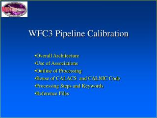 WFC3 Pipeline Calibration