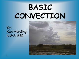 BASIC CONVECTION