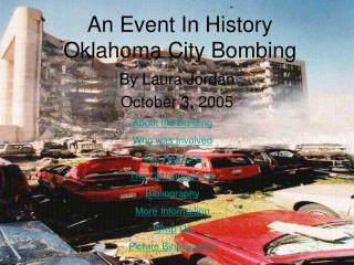 An Event In History Oklahoma City Bombing