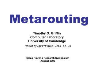 Metarouting