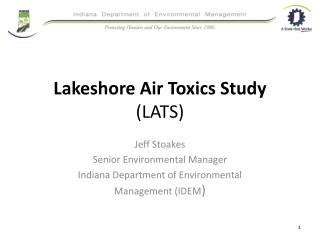 Lakeshore Air Toxics Study (LATS)