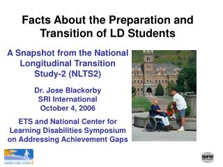 Facts About the Preparation and Transition of LD Students
