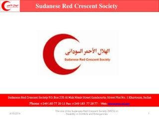 Sudanese Red Crescent Society