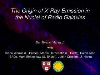 The Origin of X-Ray Emission in the Nuclei of Radio Galaxies