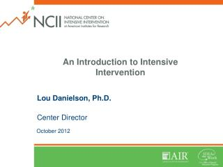 An Introduction to Intensive Intervention
