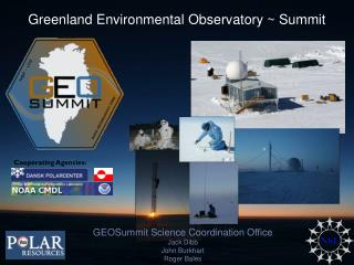 Greenland Environmental Observatory ~ Summit