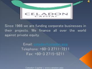 Health And Biotechnology Financing Firm - Celadon Capital