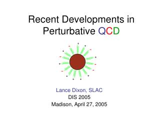 Recent Developments in Perturbative  Q C D