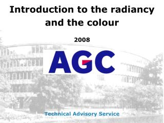Introduction to the radiancy  and the colour 2008