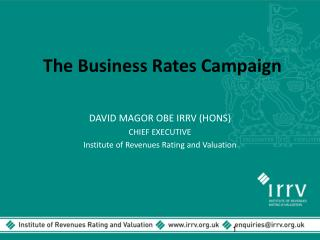 The Business Rates Campaign
