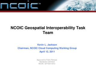 NCOIC Geospatial Interoperability Task Team