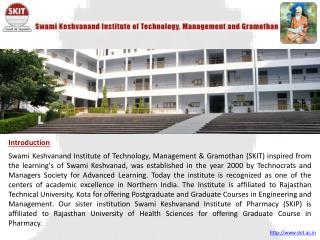 SKIT-best engineering college in Rajasthan - india