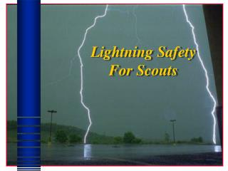 Lightning Safety For Scouts