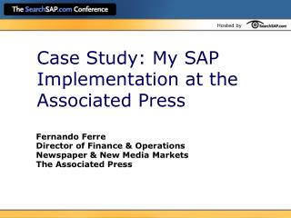 Case Study: My SAP Implementation at the Associated Press