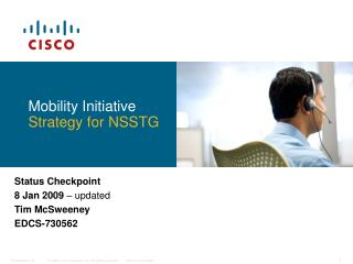 Mobility Initiative Strategy for NSSTG