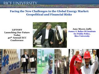 Facing the New Challenges in the Global Energy Market: Geopolitical and Financial Risks