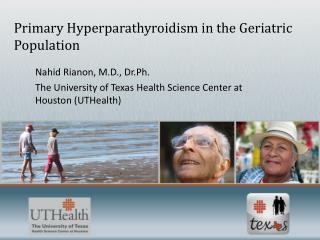 Primary Hyperparathyroidism in the Geriatric Population
