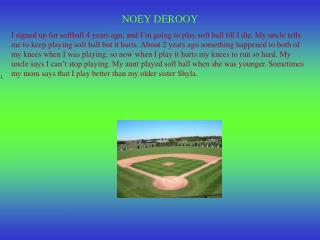 NOEY DEROOY