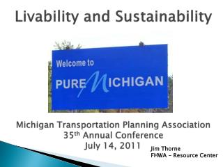 Jim Thorne FHWA - Resource Center