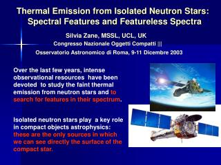 Thermal Emission from Isolated Neutron Stars: