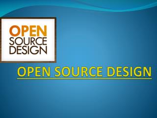 Open Source Design