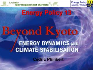 Energy Policy 13
