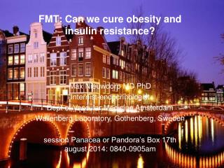 FMT: Can we cure obesity and insulin resistance?