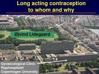 Long acting contraception to whom and why