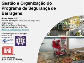 Gestão e Organização do  Programa de Segurança de Barragens