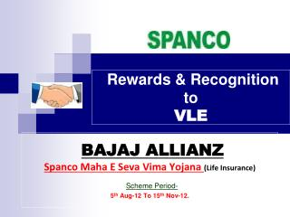 Rewards & Recognition to  VLE
