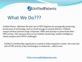 About Patent