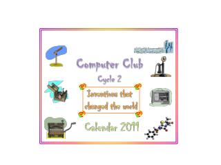 Computer  Club Cycle 2