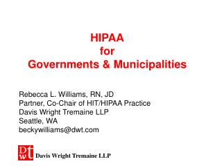 HIPAA for Governments & Municipalities