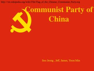 Communist Party of  China