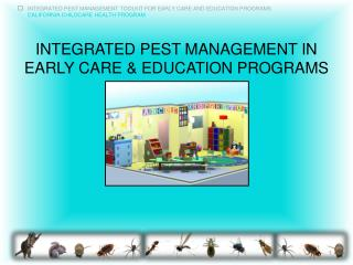 Integrated Pest Management in Early Care & Education Programs