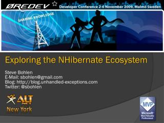 Exploring the  NHibernate  Ecosystem