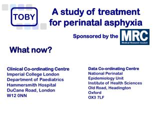 A study of treatment  for perinatal asphyxia